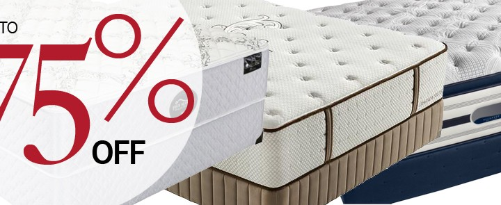 Name Brand Mattress for Up to 75% Off